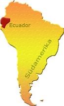 Ecuador Karte Südamerika