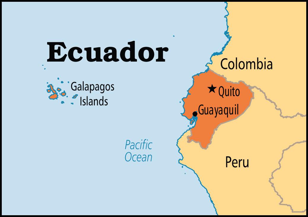 Lateinamerika Karte Gebirge.Ecuador Reise Ch Ecuador Rundreisen Mit Alexandra Und Benedikt Aregger